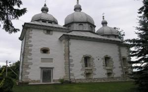 Залужжя. Спасо-Преображенська церква