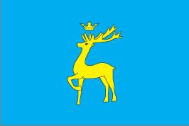 Прапор Бережанського району